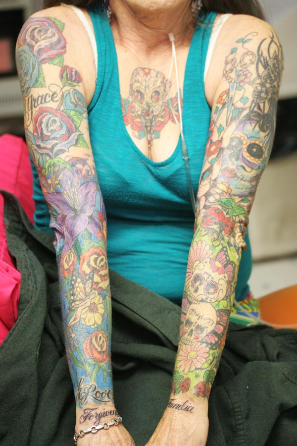 Double Colorful Sleeve